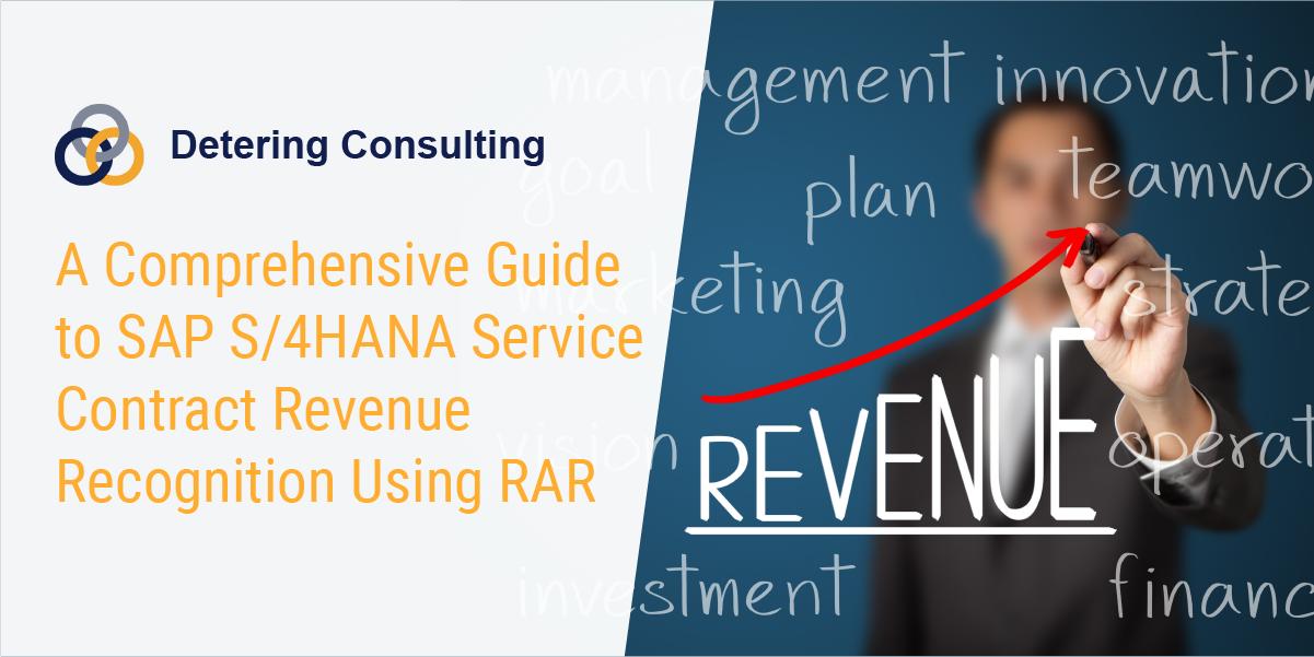 SAP S/4HANA Revenue Recognition