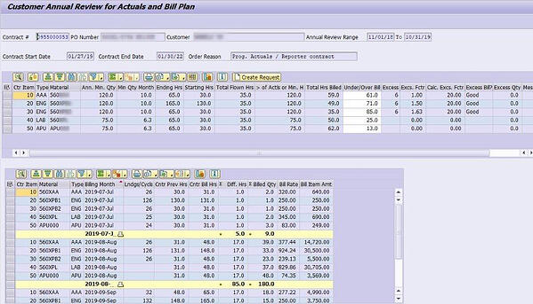 Programs screenshot unscharf