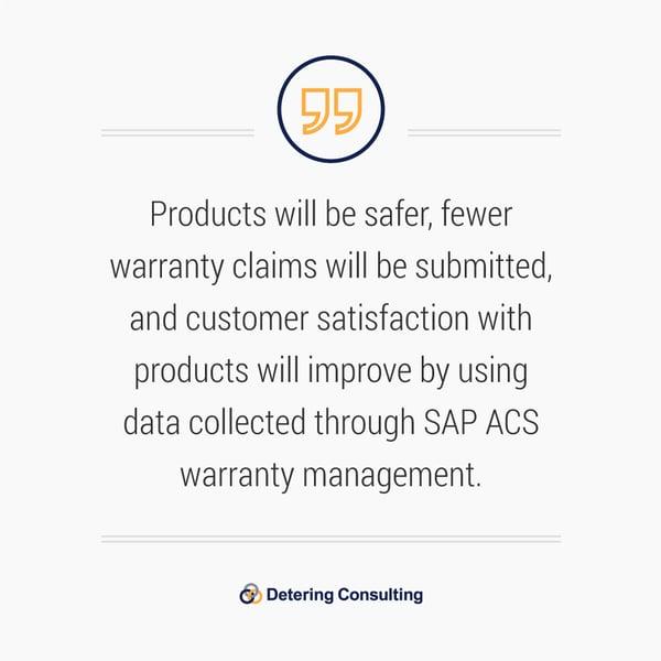SAP ACS Warranty Management Solution quote4