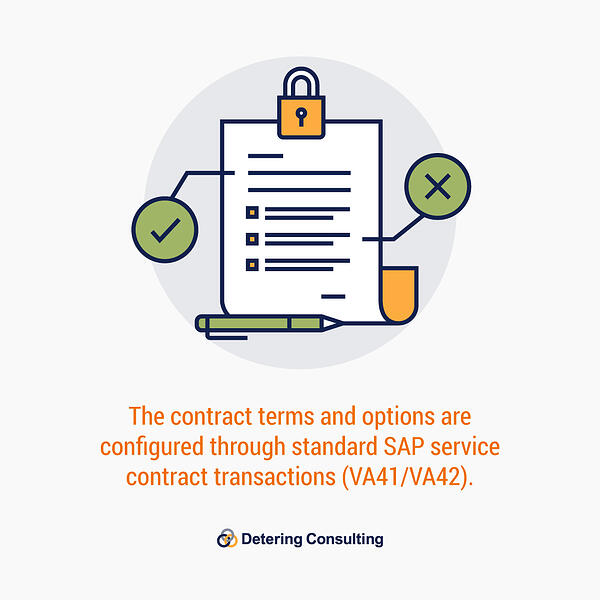 SAP service contract billing solution image2