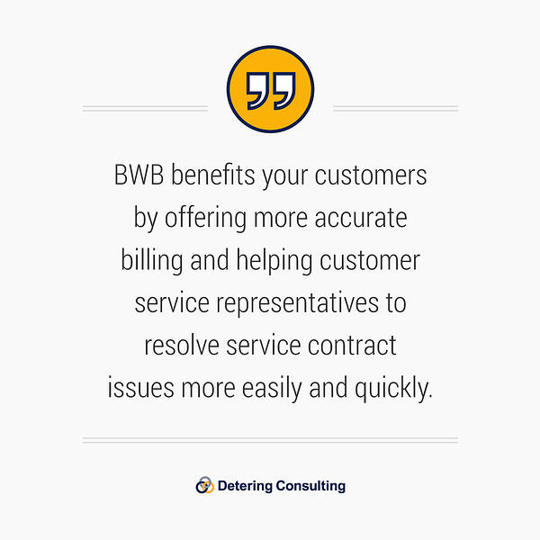 SAP service contract billing solution quote4
