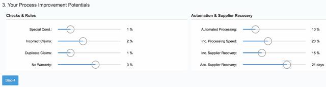 SAP Warranty Project Savings Calculator