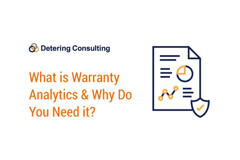 what is warranty analytics inset